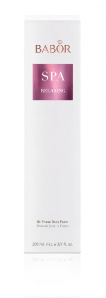 BABOR SPA - Relaxing Bi-Phase Body Foam 200ml
