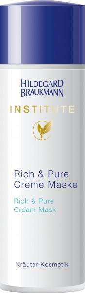 Institute Rich & Pure creme Maske 50ml